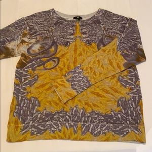 H&M Abstract Crew Neck Sweater